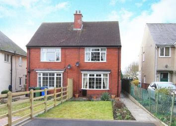 Thumbnail 2 bed semi-detached house for sale in The Green, Hasland, Chesterfield, Derbyshire