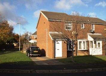 Thumbnail 2 bed semi-detached house for sale in Castle Way, Pegswood, Morpeth