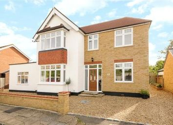 Thumbnail 4 bed detached house for sale in Crescent Road, Shepperton, Surrey