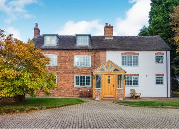 Thumbnail 5 bed farmhouse for sale in Blithbury, Rugeley