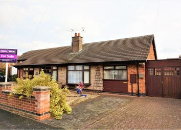 Thumbnail 2 bed semi-detached bungalow for sale in Needham Close, Melton Mowbray