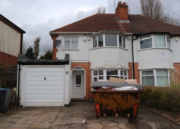 Thumbnail 3 bed semi-detached house to rent in Beeches Road, Birmingham