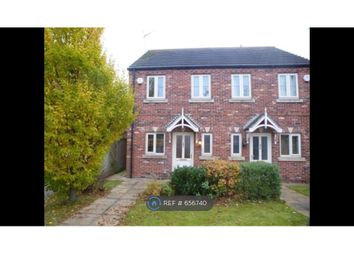 Thumbnail 2 bed semi-detached house to rent in Fieldside, Crowle