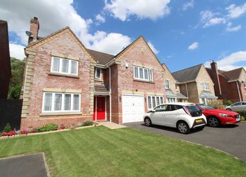 Thumbnail 5 bed detached house for sale in Priory Gardens, Langstone, Newport