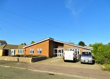 Thumbnail 5 bed detached bungalow for sale in Fern Crescent, Groby, Leicester