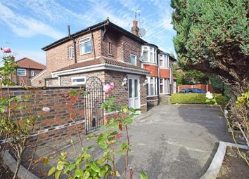 Thumbnail 3 bed semi-detached house for sale in Wilmslow Road, East Didsbury, Manchester