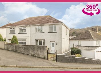 Thumbnail 3 bed semi-detached house for sale in Graig Park Circle, Newport