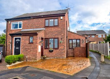 Thumbnail 3 bed semi-detached house for sale in Middlecroft Close, Leeds