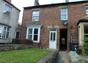 Thumbnail 3 bed terraced house to rent in St. Johns Road, Bishop Monkton, Harrogate