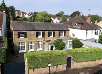 Thumbnail 5 bed detached house for sale in Somerset Road, Wimbledon