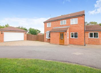 Thumbnail 3 bed detached house for sale in Vyne Crescent, Great Holm, Milton Keynes