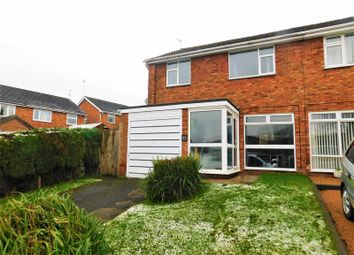 Thumbnail 3 bed semi-detached house for sale in Churchfield Road, Eccleshall, Stafford
