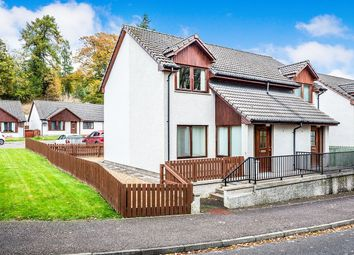 Thumbnail 2 bed semi-detached house for sale in The Orchard, Alness