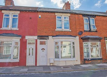 Thumbnail 2 bed terraced house for sale in Alfred Street, Redcar