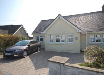 Thumbnail 3 bedroom semi-detached bungalow for sale in Lydstep, Tenby