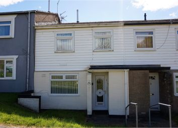 Thumbnail 3 bed terraced house for sale in Lupin Close, Merthyr Tydfil