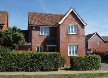 Thumbnail 4 bedroom detached house for sale in Brook Farm Road, Saxmundham