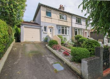 Thumbnail 3 bed semi-detached house for sale in Port E Chee Avenue, Douglas, Isle Of Man