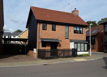 Thumbnail 3 bed detached house to rent in Hawley Drive, Leybourne, West Malling