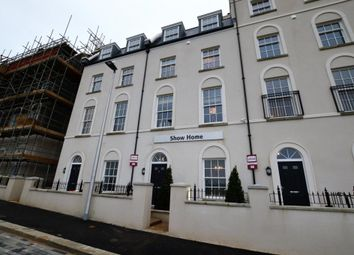 Thumbnail 4 bed terraced house for sale in Sherford Village, Haye Road, Plymouth, Devon