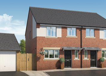 "Thumbnail 3 bed property for sale in ""The Larch At The Pinders"" at Coach Road, Throckley, Newcastle Upon Tyne"