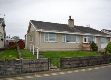 Thumbnail 2 bed bungalow for sale in Y Grugan, Groeslon