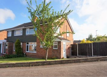 Thumbnail 3 bed semi-detached house for sale in Masefield Avenue, Enderby