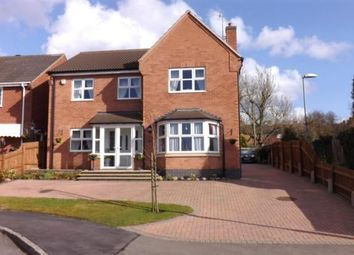 Thumbnail 4 bed detached house for sale in St. Catharines Way, Houghton On The Hill, Leicestershire