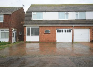 Thumbnail 3 bed semi-detached house for sale in Crown Road, Clacton-On-Sea