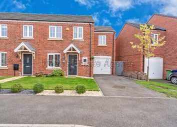 Thumbnail 3 bed end terrace house for sale in Wilton Close, Cannock
