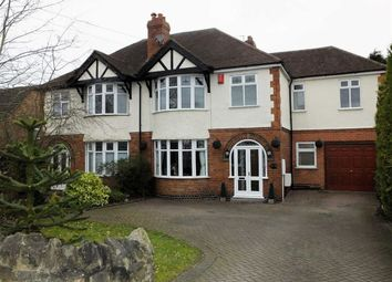 Thumbnail 5 bed semi-detached house for sale in Church Road, Burton On Trent, Staffs