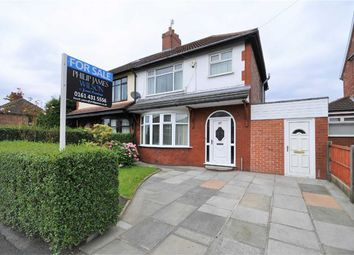 Thumbnail 3 bed semi-detached house for sale in Cringle Road, Levenshulme, Manchester