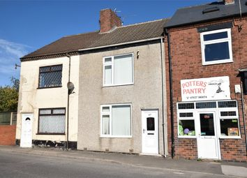 Thumbnail 2 bed terraced house for sale in Main Road, Shirland, Alfreton, Derbyshire