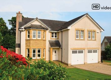 Thumbnail 4 bed detached house for sale in Helenslee Place, Dumbarton