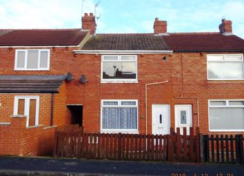 Thumbnail 2 bedroom terraced house for sale in Hardwick Street, Blackhall