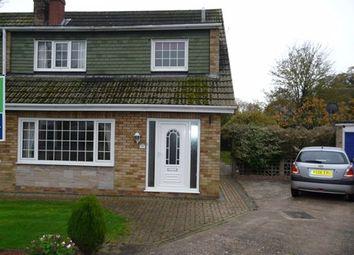 Thumbnail 3 bedroom bungalow to rent in Church Acres, Swinefleet, Goole