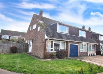 Thumbnail 3 bedroom semi-detached house to rent in Ross Close, Rose Green, Bognor Regis