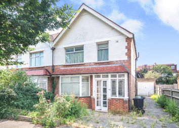 Thumbnail 3 bed semi-detached house for sale in Roman Road, Hove
