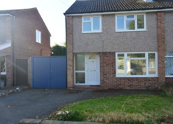 Thumbnail 3 bed semi-detached house to rent in Priory Walk, Leicester Forest East