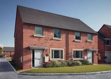 """Thumbnail 3 bedroom semi-detached house for sale in """"The Marsden"""" at South Newsham Road, Blyth"""