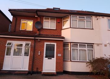 Thumbnail 3 bed flat to rent in Nolton Place, Edgware