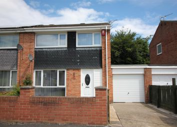 Thumbnail 3 bed semi-detached house for sale in Thropton Avenue, Blyth