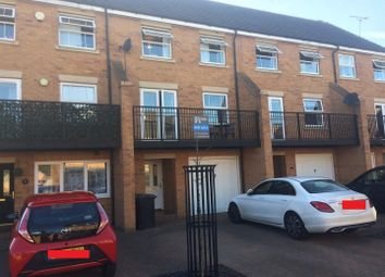 Thumbnail 4 bed town house for sale in Bushy Court, Hampton Hargate, Peterborough