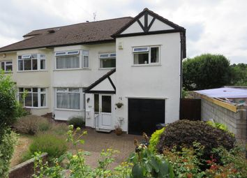 Thumbnail 4 bed semi-detached house for sale in Reedley Road, Stoke Bishop, Bristol
