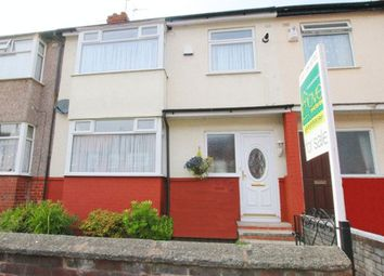 Thumbnail 3 bed terraced house for sale in Pitville Road, Mossley Hill, Liverpool