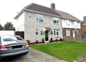 Thumbnail 3 bed semi-detached house for sale in White Avenue, Langold, Worksop