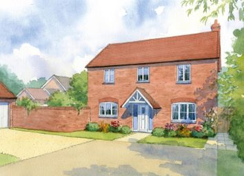 Thumbnail 3 bed detached house for sale in Gilden Drive, Gilmorton, Leicester