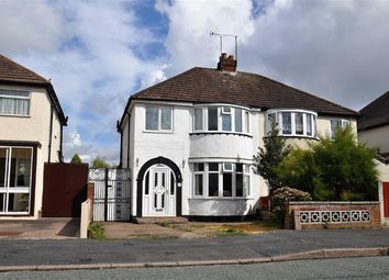 Thumbnail 3 bedroom semi-detached house for sale in Aldersley Avenue, Claregate, Wolverhampton, West Midlands