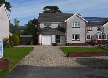 Thumbnail 4 bed detached house for sale in Glanafon, Kidwelly