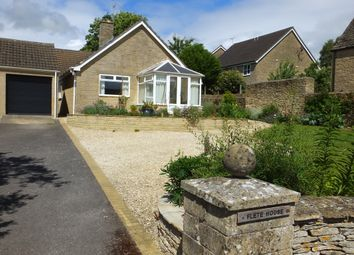 Thumbnail 3 bed detached bungalow for sale in Chavenage Lane, Tetbury